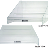 Whitman Acrylic 3 Tier Display. Only Display.