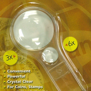 Whitman Retail Pack 2—in—1 Magnifier — 3x—6x