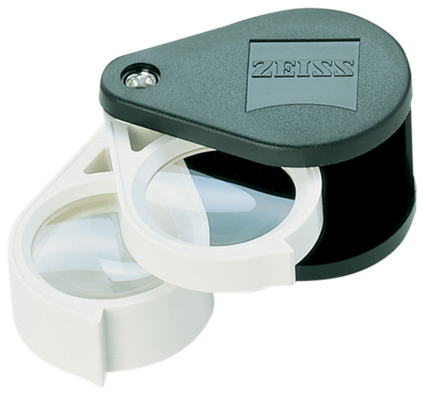 Zeiss Aplanatic—Achromatic Double Loupe: 36D (9x)