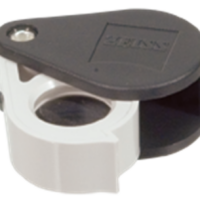 Zeiss Aplanatic—Achromatic Pocket Loupe: 24D (6x)