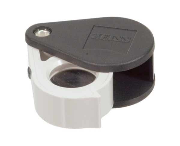 Zeiss Aplanatic—Achromatic Pocket Loupe: 40D (10x)
