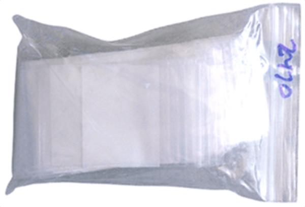 Zip Lock Bag – Write On – 2×3