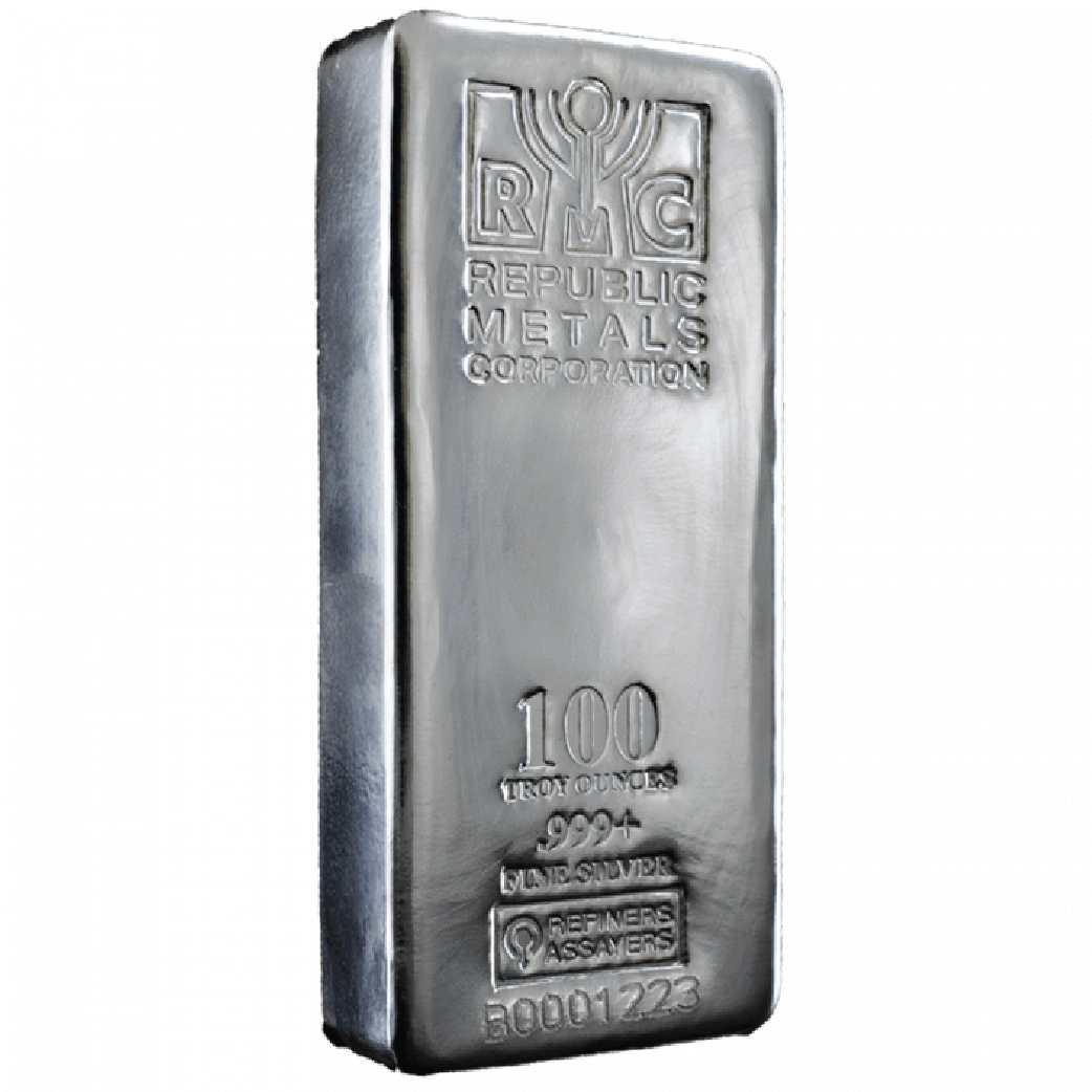 100 Troy Ounce Bars