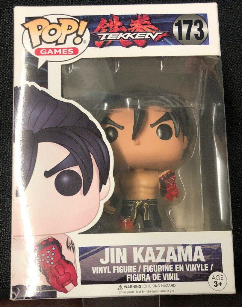 Funko Pop! Games Tekken- Jin Kazama #173 NH