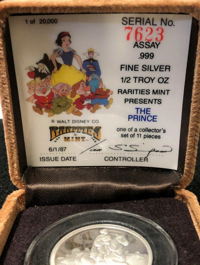 Rarities Mint 1/2 Troy Oz The Prince 50th Anniversary NH