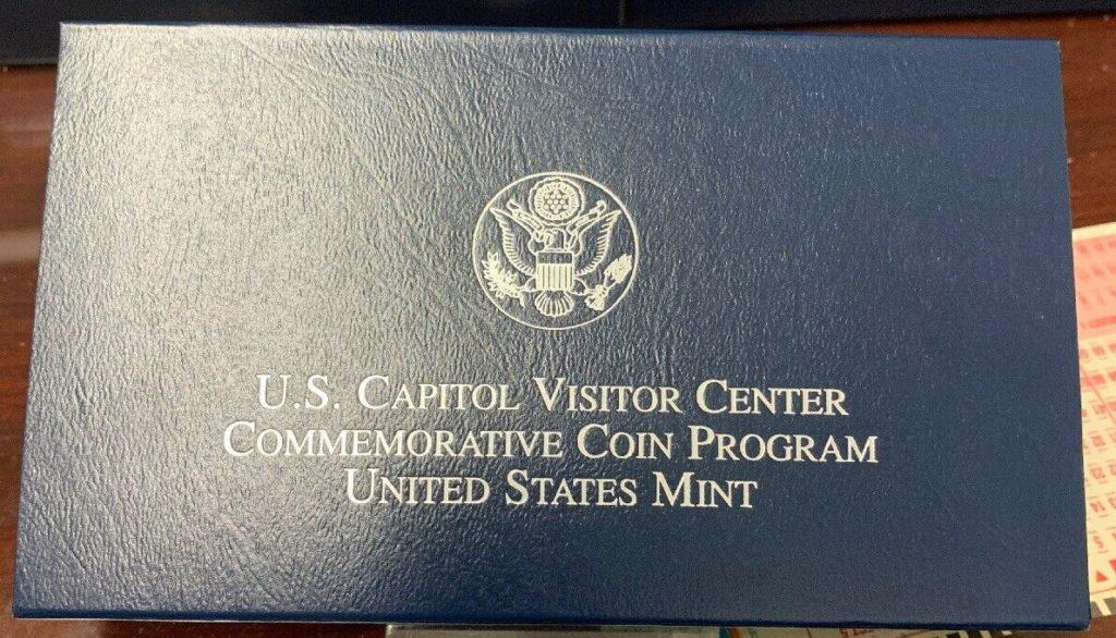2001 United States Mint U. S. Capitol Visitor Center Commemorative Coin W/COA