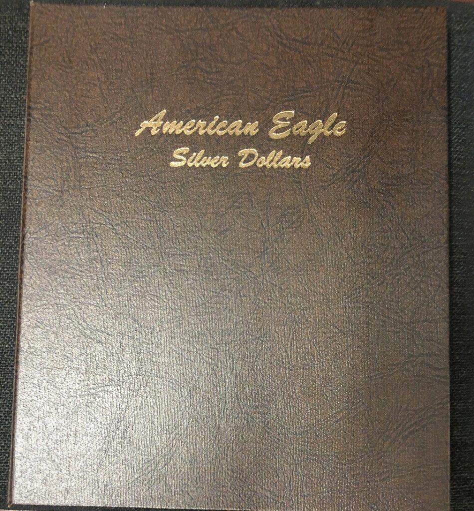 American Eagle Silver Dollars 1986-2003 18 Eagles