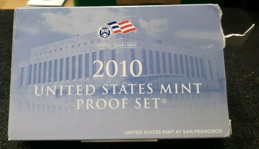 2010 United States Mint Proof Set XH