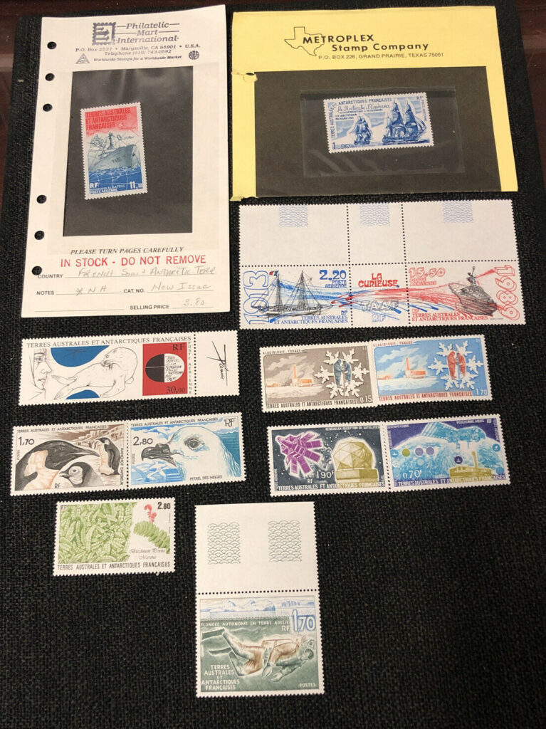 Fr. Southern Antartica Terr. Lots of Stamps