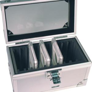 10 Slab Aluminum Box - Clear Top