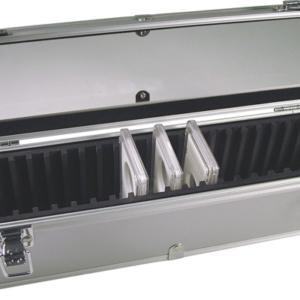 25 Slab Aluminum Box - Clear Top