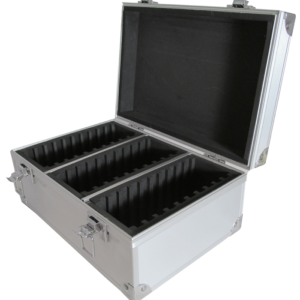 30 Slab Aluminum Box - Solid Top