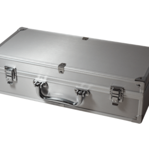50 Slab Aluminum Box with Handle and Footers