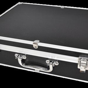 100 Slab Black & Aluminum Box - Front Handle