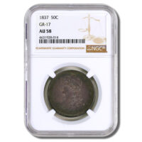 1837-50-Cent-Capped-Bust-Reeded-Edge