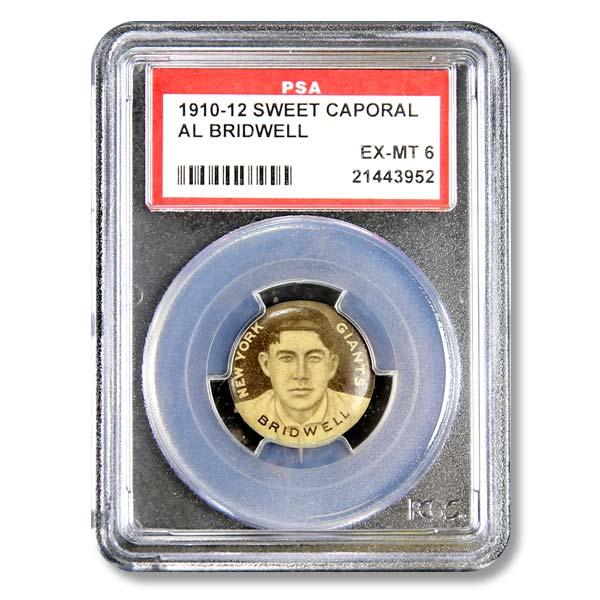 1910-1912 Sweet Caporal AL BRIDWELL